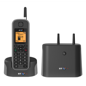BT Elements 1K Long Range Cordless Single Telephone